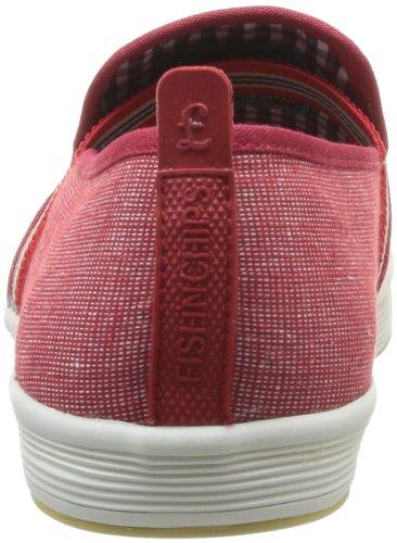 Base Londra Fry 2 Herren Sneaker Rot-rouge (505 Tessuto Rosso)