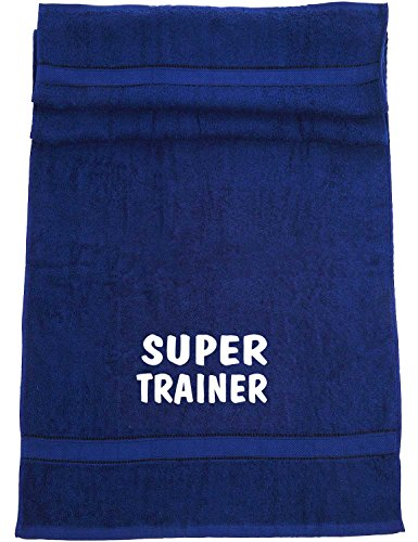 Super Trainer; Sport Badetuch, navy