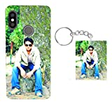 Giftroom Customised Photo Mobile Cover with Keychain