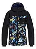 Quiksilver Jungen Jacke Eqbtj03080 M Black_A Night at The Mountain