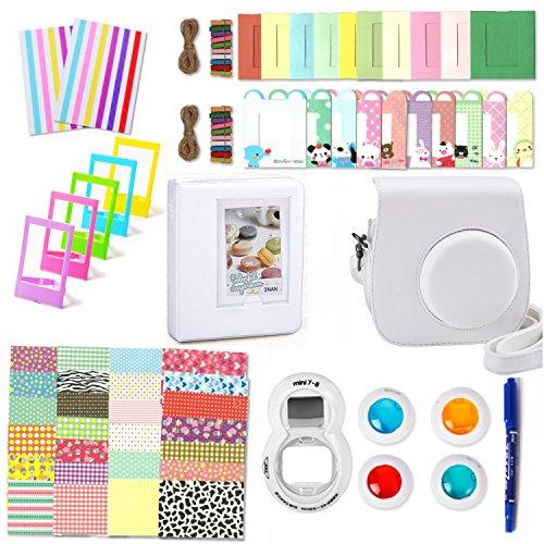 accessori-fujifilm-instax-mini-8-leebotree-pacchetto-camera-interocaso-album-selfie-lente-filtri-cor