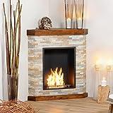 muenkel Design Galano éthanol cheminée d'angle