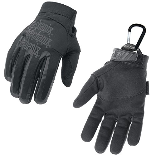 MECHANIX WEAR Element Einsatz-Handschuh, winddicht, wasserabweisend, Touchscreen-fähig + TS Tactical Gear-Karabiner, Original Glove in GrößeS: XXl