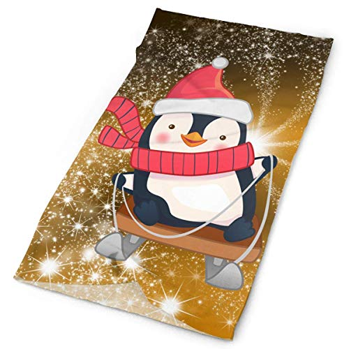 Jolly2T Cute Penguin Bandanna Headwear Neck Gaiters Variety Scarf Wrap -