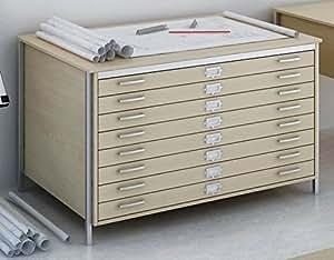 plan format a0 en ch ne 8 tiroirs commode table meubles de. Black Bedroom Furniture Sets. Home Design Ideas