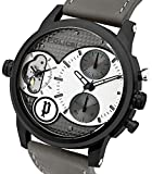 Police-Mens-PL94371AEU04-Quartz-Watch-with-Silver-Dial-Analogue-Display-and-Leather-Strap