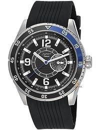 Esprit Herren-Armbanduhr XL Varsity Blue Analog Quarz Kautschuk ES104131002