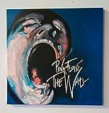 Pink Floyd The Wall - Quadro Dipinto A Mano su Tela Canvas (Formato 50 X 50 cm)