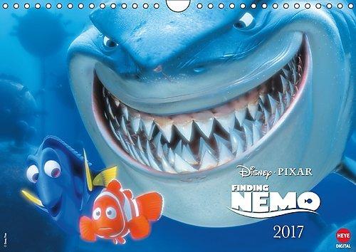 Preisvergleich Produktbild Findet Nemo (Wandkalender 2017 DIN A4 quer): Das ideale Geschenk für Fans des kleinen Clownfischs (Monatskalender, 14 Seiten ) (CALVENDO Spass)