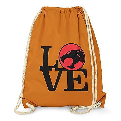 TEXLAB - Thunder Love - Turnbeutel, orange (He-man-kostüm Für Kinder)