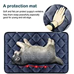 Hero Dog Dog Bed Extra Large Washable Crate Mattress 47 Inch, Soft Non Slip Pet Fleece Cushion Pad Blue XL 12
