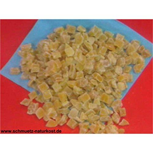 Gehackte Mangostücke getrocknet, ungeschwefelt und kandiert 1000g von Schmütz-Naturkost