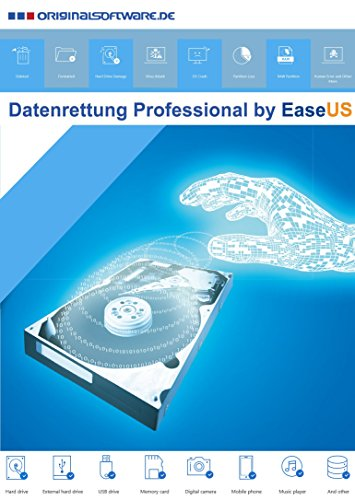 Datenrettung Professional by EaseUS - Festplatte Löschen