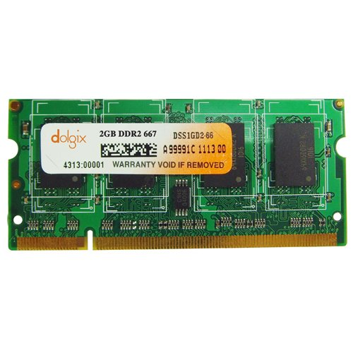 2gb Ddr2 667mhz Dolgix Laptop Ram