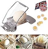 Edelstahl Eierschneider Cutter perfekt Eier Scheiben schneiden ohne den Schlamassel,
