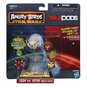 Star Wars Angry Birds Jedi Vs Sith Telepods Multi Pack