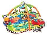 Playgro 0183214 Dschungel Freunde Erlebnis Spieldecke