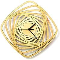 Whirl - zeitgenössische moderne Wanduhr aus Holz, Holzuhr, Wanddeko