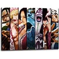 Seven Samurai, una pieza de imágenes sobre lienzo en el formato: 120x80 cm. Impresión del arte de alta calidad como un mural. Más barato que una pintura al óleo! ADVERTENCIA! NO Poster