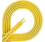 Ladeheid Lacets de qualité en 100% polyester LAKO1001 (jaune104, 150cm)