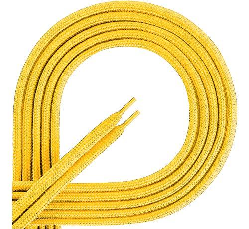 Ladeheid Lacci da Scarpe in 100% Poliestere LAKO1001 (Giallo104 7415d448694