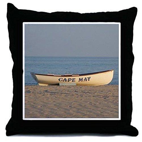 CafePress-Cape May Rettungsboot-Überwurf Kissen, dekoratives Kissen, Cover + Insert