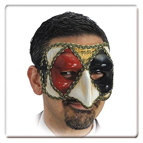 Carnival Toys 640 - Maske, schwarz/ ()