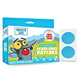 #9: Moskito Safe Scare-Away Natural Mosquito Repellent Patches (30 (25+5) Patches)