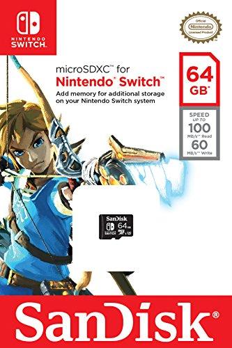 SanDisk SDSQXAT-GN6ZA Scheda MicroSDXC per Nintendo Switch