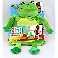 Toddlers Safety Harness Reins Animal Backpack - Frog