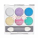 Claire's Girl's Bright Glitter Eyeshadow Pallet Rainbow.
