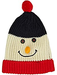 The Christmas Workshop Men's Knitted Snowman Hat Beanie