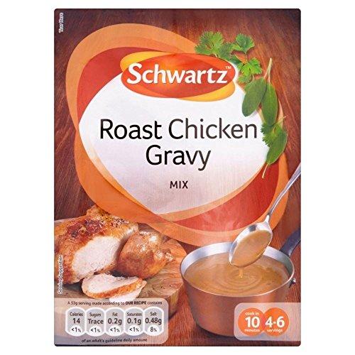 Schwartz Roast Chicken Gravy Mix (26g) - Packung mit 2 (Chicken Gravy)