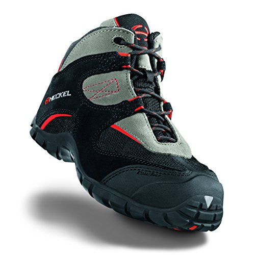 Heckel macsole Sport macmove S1P HRO SRA–sportivo scarpe antinfortunistiche–100% metallo libero Nero/Grigio