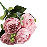 Pageantry Künstliche Rose Künstliche Blume Echt aussehende gefälschte Rosen mit Stiel für Die Hochzeit Haus Dekoration
