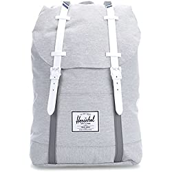 Mochila Herschel Supply – Retreat gris/blanco