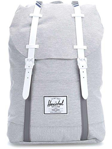 Mochila Herschel Supply – Retreat gris/blanco