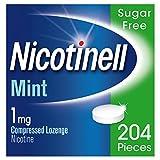 Nicotinell Nicotine Lozenge Stop Smoking Aid 1 mg Mint Sugar Free 204 Pieces