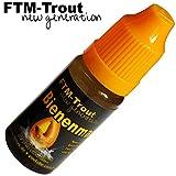 FTM Bienenmadenöl 10ml - Fischlockstoff zum Forellenangeln, Lockstoff zum Angeln auf Forelle, Forellenköder, Lockmittel für Fische