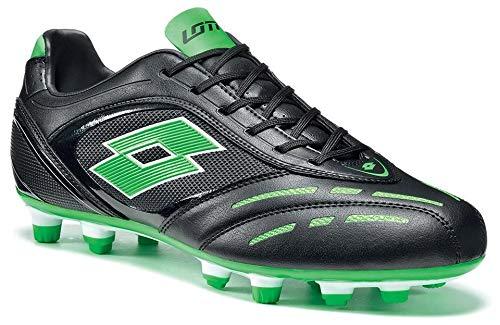 Lotto Stadio P VI 700 FGT Chaussures de Football Noir R8160