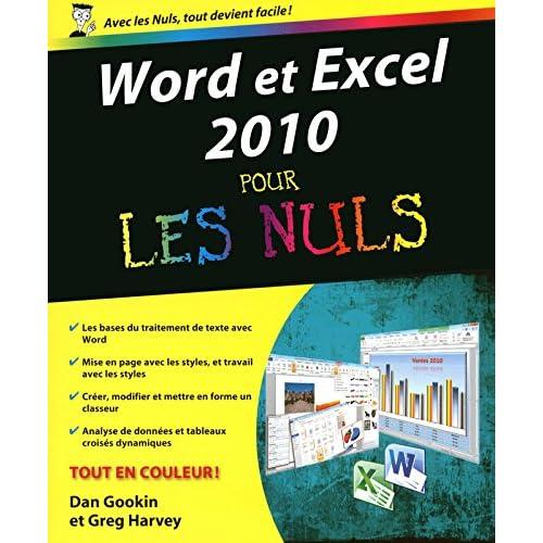 WORD ET EXCEL 2010 PR NULS