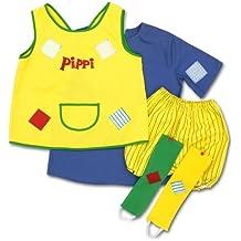 Pippi Langstrumpf 44.3600.04 - Disfraz de Pipi Calzaslargas, a partir de 4 años