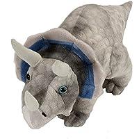 Wild Republic 13770 - Dinosauria Plüsch Triceratops, 38 cm