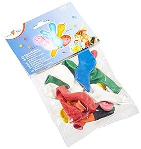 Tarjeta Susy 11144425 - figura globos, figuras, colores y diseños variados, 10 piezas