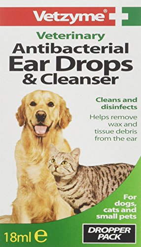 Vetzyme Antibacterial Ear Drops and Cleanser