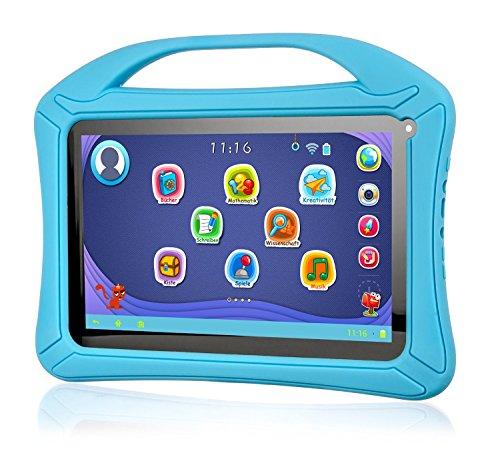 Preisvergleich Produktbild Xoro KidsPAD 903 - 22,8 cm (9 Zoll) Tablet PC (Rockchip RK3126, 1GB RAM, 8GB HDD, Mali-400 MP2, Kamera, WLAN, Android 5.1, Touchscreen) für Kinder