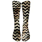 wwoman Leopard Acquerello Athletic Tube Calze da donna Uomo Classics Knee High Socks Sport Long Sock One Size