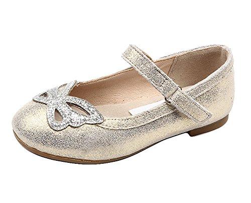 Bild von Insun Mädchen Glitzer Ballerinas Schuhe Leder Festliche Kinderschuhe für Partys und Freizeit Mary Jane Prinzessin Schuhe