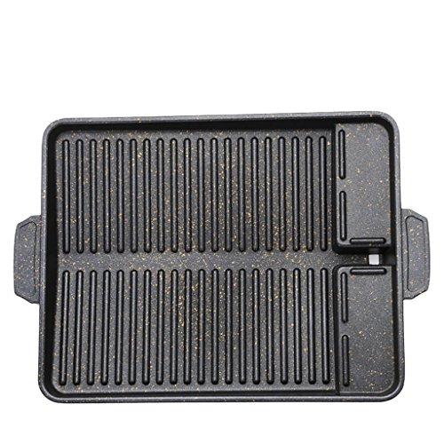 Barbecue plate JF Antihaft-Grill-Tablett/Grill im Freien und Zuhause/sicher und langlebig/37cm * 26cm * 4cm