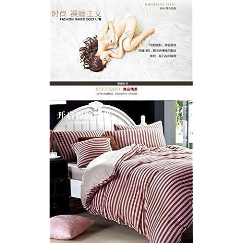 FEI&S stampa di tessili di cotone in stile quattro set (Aqua Presepe Set)